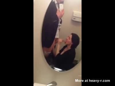 Cock Sucking On Public Toilet