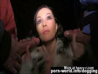 Samantha Stockings A Dogging Delight