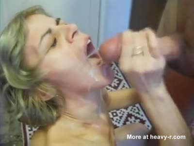 Making It Rain Cum In Her Mouth