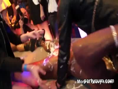 Whipped Cream Licking Off Black Guys