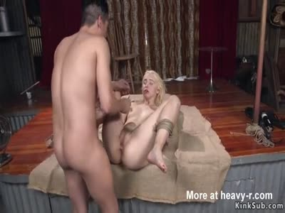 Saloon Maid Whipped In BDSM Barn
