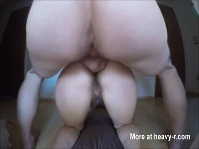 Messy POV Anal Sex