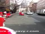 Street Fight: Santa Claus Version