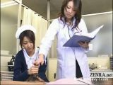 Japanese Nurses Give Handjob