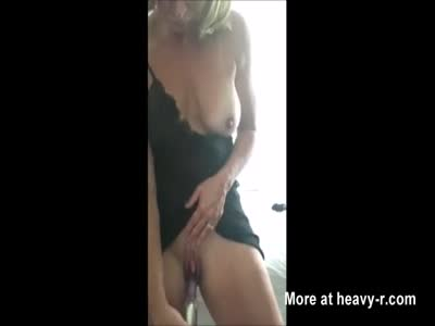 Big Boobs MILF Fucking Herself