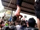 Egyptian Vigilantes Hang Thieves In Public