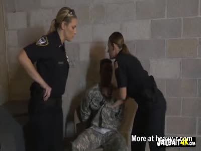 Douche bag soldier gets caught by cops