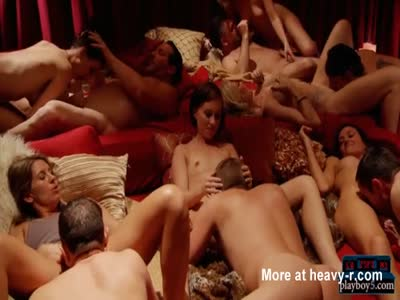 First time swinger orgy