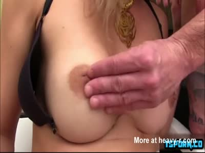 Hot shemale ass to mouth and cumshot