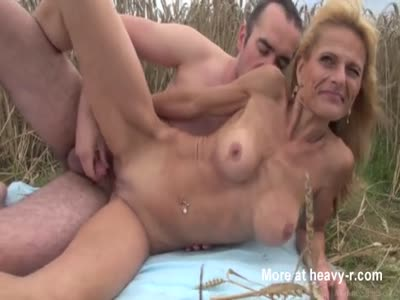Skinny Mature Fucked Outdoor