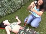 Slaughtered Army Girl