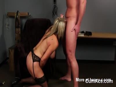 Mature Slut Doing What She's Told