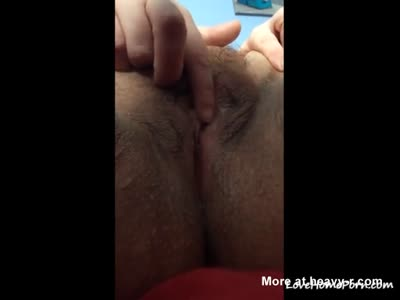 Toying Dried Out Pussy