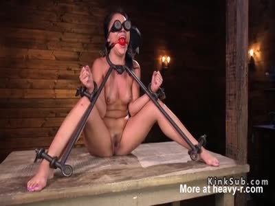 Bound Down And Toyed