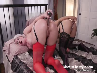 Anal Toying Together For Domina