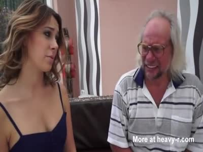 Sexy Girl Fucks Old Ugly Guy