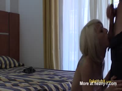 Police Cock For Slutty Blonde
