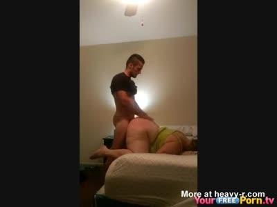 Big ass redhead on black cock