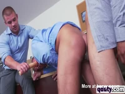 Gay porn at the office