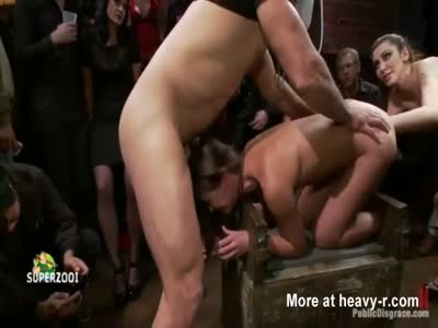 Humiliation In Public Bar