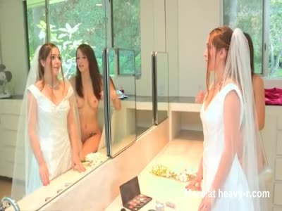 Lesbian group sex at wedding day