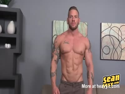 Brennan has the outstanding body and the abs