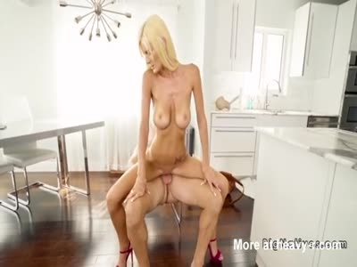 Repairman Banging Blonde
