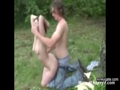 Outdoors Humiliation For Teen Slut