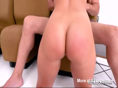 Fat booty blonde Candice Dare sucked and gets fucked