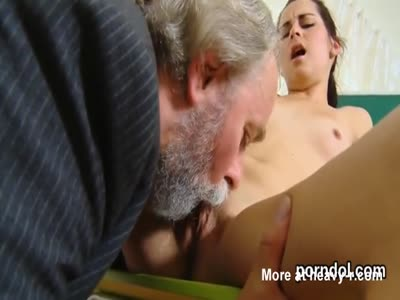 Teacher Eating Out Schoolgirl Pussy