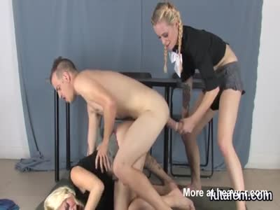 Sweeties Reaming Studs Butthole With Fake Dicks