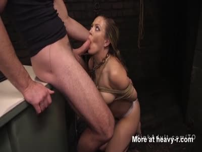 BDSM Girl Throat Banged