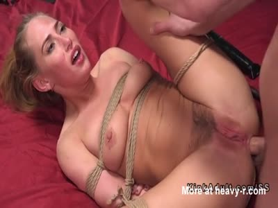 Rough Anal For Tied Up Teen