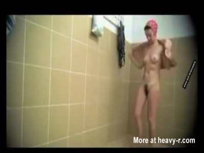 Mature Moms In Public Shower