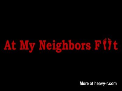 Kitty BareFoot FootStool1 - At My Neighbors Feet