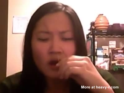 Asian Girl With Sneezing And Nose Torture Fetish