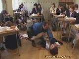 Teacher Rapes Students During Class