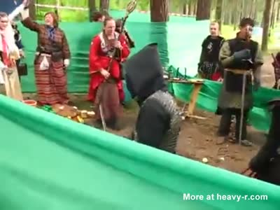 Real Cosplay Fight