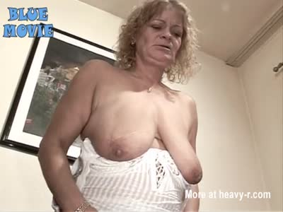 Old bitch with extreme loose hanging tits