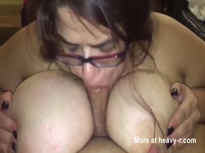 Tit And Blowjob In One Go