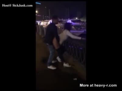 Drunk And Hard Fucking In Public