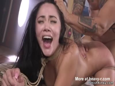 Anal Fuck For Bound Hottie
