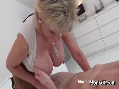 Unfaithful english mature lady sonia flashes her huge boobs