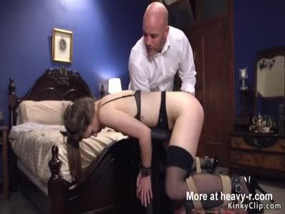 Slave in love gets anal from bf master