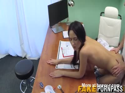 Brunette Babe Pussy Owned By Doctor