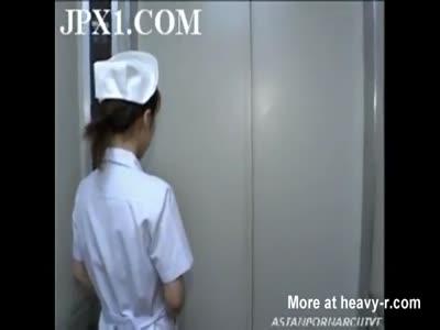 Nippon nurse raped in an elevator