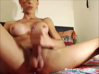 Beautiful Tranny With Gorgeous Cock And Big Tits