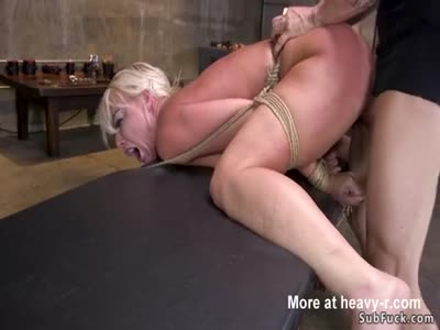 Busty Milf Banged Rough In Bdsm