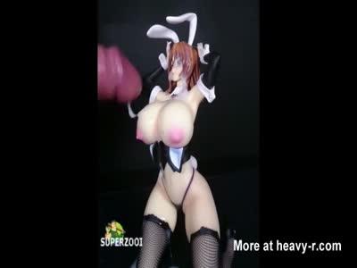 Bunny Figurine Bukkake