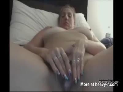 BBW Mom Masturbating